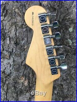 Fender American Standard Stratocaster 50th Anniversary UPGRADES