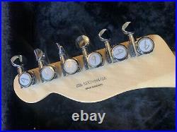 Fender Deluxe Nashville Telecaster 6 String Electric Guitar Fiesta Red