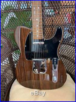 Fender George Harrison style Rosewood Telecaster MIJ withtweed case