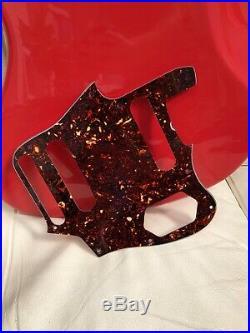 Fender Jaguar Vintage'60's lacquer Fiesta Red 2014