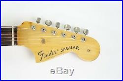 Fender Japan JG-66 JAGUAR Sunburst 1993 N Serial JG66 Mustang Bridge