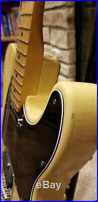 Fender MIA 60th Anniversary 2011 Telecaster Electric Guitar Blonde/Maple Neck