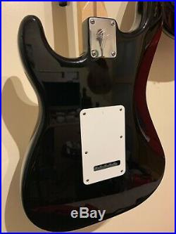 Fender Mexican Strat Stratocaster Black Electric Guitar MIM