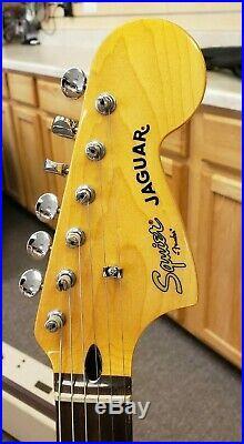 Fender Squier Classic Vibe'70s Jaguar Electric Guitar Laurel Surf Green