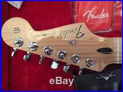 Fender Standard Stratocaster White Fat 50s Pickups Hard Case 2017