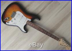 Fender Stratocaster Guitar Turbo withBlender MOD Sunburst Squier Strat