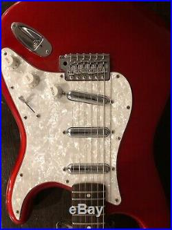Fender Stratocaster Perfect Condition (Red Shade-Lipstick Pickups)
