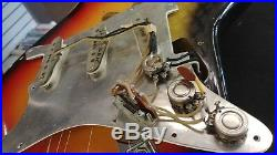 Fender Stratocaster guitar 1965 pre-CBS, L series, Sunburst original components