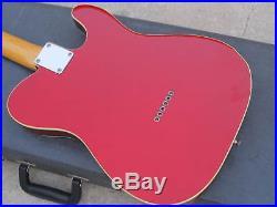 Fender Telecaster 62 Reissue Japan Left Handed Candy Apple
