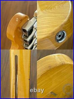 Fender Telecaster Custom (Deluxe Mod), 72, Natural Ash, 1997, Hard Case