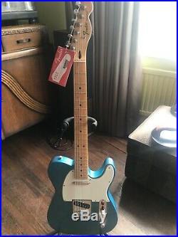 Fender telecaster lake placid blue include black rat hard case