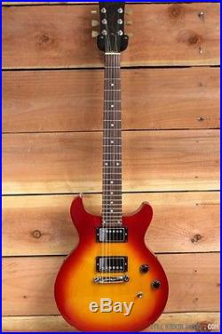 Gibson 1997 Les Paul Deluxe Studio Double Cutaway Cherry