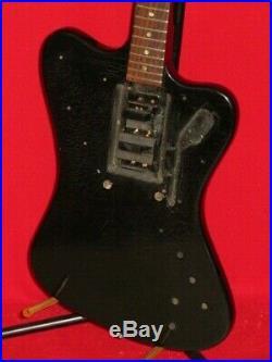 Gibson 1965 Black Firebird Non-Reverse Body & Neck