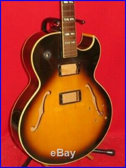 Gibson 1976 Sunburst ES 175 Hollow Body & Neck