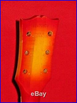 Gibson 1980 Cherry Burst Les Paul Custom Body & Ebony Neck