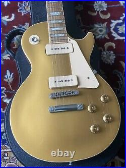 Gibson 2006 Les Paul Gold Top Standard P90 Soapbar Lightly Aged with Hard Case