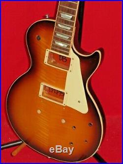 Gibson 2015 USA Black Less Paul Body & Neck Les