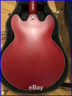 Gibson ES-339 Satin Red Electric Guitar OHSC