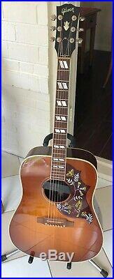 Gibson Hummingbird Acoustic Electric Guitar Sunrise Pickup