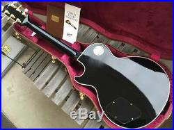 Gibson Les Paul CUSTOM made in USA 2015 Black Beauty with Volute neck
