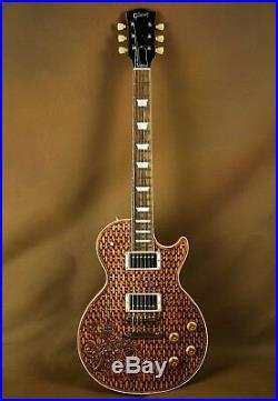 Gibson Les Paul Carved Rose Custom Electric Guitar