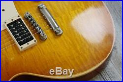 Gibson Les Paul Custom Shop 1959 Jimmy Page Number One Murphy Aged Signed COA #1