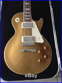Gibson Les Paul Gold Top 2013 Excellent Condition Seymour Duncans Upgrades