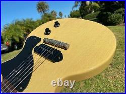 Gibson Les Paul Junior Jr Custom Shop Historic 57 1957 ReIssue TV Yellow