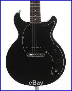 Gibson Les Paul Junior Tribute Doublecut 2019 Solidbody Guitar Worn Ebony + Bag