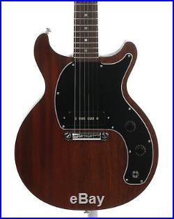 Gibson Les Paul Junior Tribute Doublecut Solidbody Guitar 2019 Worn Brown + Bag