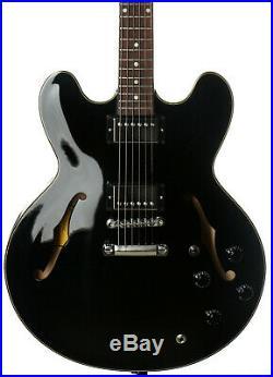 Gibson Memphis ES-335 Studio 2019 Semi-Hollowbody Electric Guitar Ebony