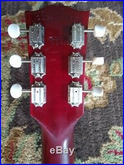 Gibson SG special. Just needs pickups. Good wood era. Project with hard case