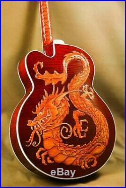 Gibson Super 400 China Dragon Custom Masterpiece Archtop Guitar
