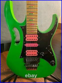 IBANEZ JEM LNG Loch Ness Green #335 Steve Vai signature guitar hardshell case NO