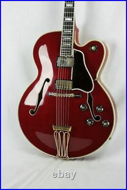 INCREDIBLY RARE 1980 Gibson Byrdland with F5 Mandolin Headstock! CHERRY RED! Es335