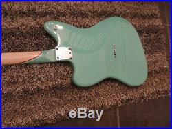 Jazzmaster Tuxedo Contour Special Fender Partscaster Custom Guitar W Gig Bag