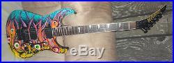 KRAMER BARETTA II EYEBALL GRAPHIC AMERICAN Electric Guitar Floyd Rose & EMG