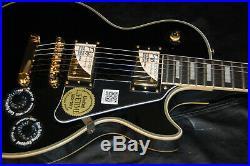 MINTY! Epiphone by Gibson Les Paul Custom Ebony Finish Save BIG
