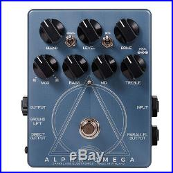 New Darkglass Alpha Omega Dual Bass Preamp/OD Pedal