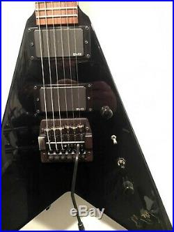 RARE! 1997 Kerry King Signature ESP Custom Shop V COLLECTORS GUITAR! SLAYER