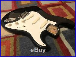 Rare 1998 Eric Clapton Fender American Stratocaster BODY BLACKIE Made in USA