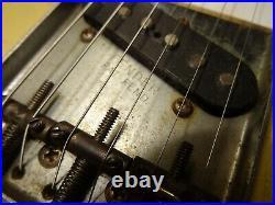 Rare Vintage 1958 Fender Esquire Blonde All Original
