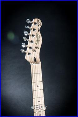 Squier By Fender Telecaster Custom P90 Tele Vintage Modified Black