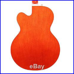 Used Gretsch G6120T Players Edition Chet Atkins Nashville in Orange Stain