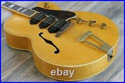 Vintage! 1953 Gibson ES-5 3 Pickup P-90 Natural Brazilian Fretboard + OHSC