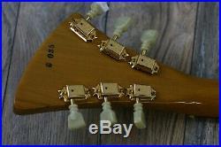 Vintage! 1981 Gibson Moderne Korina 1958 Original Reissue + ORIG Hard Case