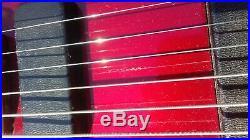 Vintage 80's Rickenbacker Model 250 El Dorado red withcase