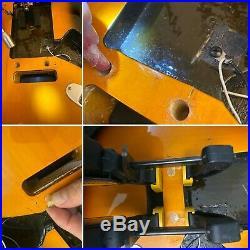 Vintage Fender American Standard Stratocaster Body Sunburst + Hardware USA 1990s