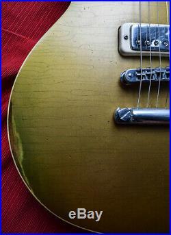 Vintage Gibson Les Paul Deluxe Relic 1976 Goldtop! No Cracks or Repairs