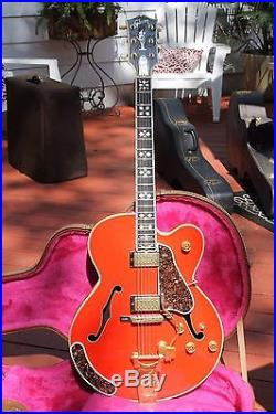 Vintage c. 1987 Gibson Chet Atkins Country Gentleman Custom Gold Electric Guitar